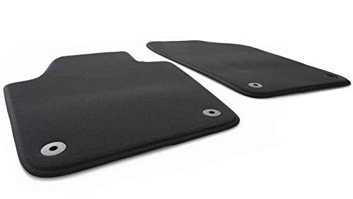 kh Teile Fußmatten passend bei Rapid Spaceback Automatten Set Velours Qualität 2-teilig vorn schwarz