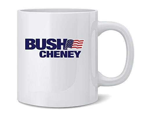 Poster Foundry George W Bush Dick Cheney President Campaign Retro Ceramic Coffee Mug Tea Cup Fun Novelty Gift 12 oz