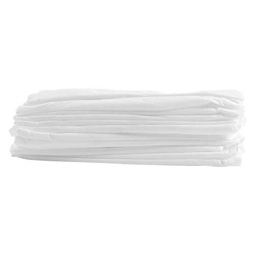 Libelyef - Juego de 20 sábanas desechables, transpirable, elástica, funda para sábanas, cubierta para sofá, cubierta para mesa de hotel, vacaciones de negocios, viaje (90 x 215 cm)