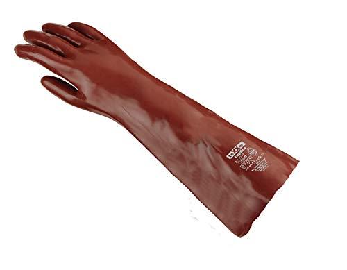 Chemikalien-Schutzhandschuhe 60 cm KAT 3 EN 388, EN 374 (1 Paar)