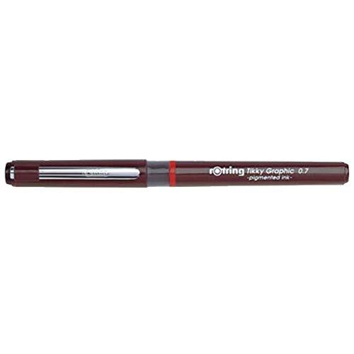 rOtring® Tikky Graphic 0,7 mm schwarze Tinte, Einweg-Feinliner, 2 Stück