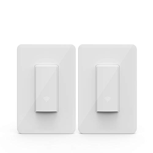 KMC Smart Wi-Fi Light Switch (2 Pack)