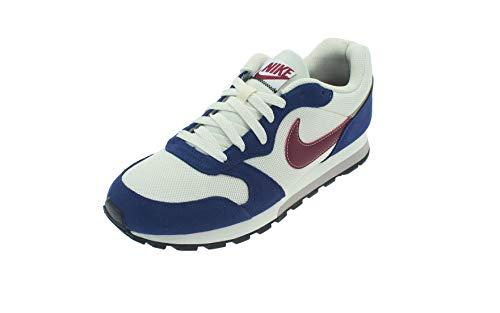 Nike MD Runner 2 ES1, Zapatillas para Hombre, Negro (Phantom/Team Red/Blue Void/White 100), 43 EU