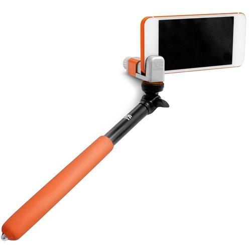 XSories Me-Shot Standard - monopods para cámaras (Aluminio, Caucho, Silicona, Acero Inoxidable, Negro, Naranja, 0,4 kg, 23 cm, 93 cm, 93g)