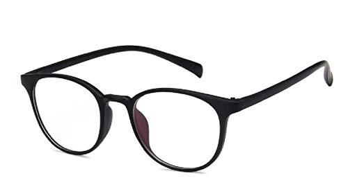 Roshfort Girls Oval Cateye Computer Anti-blue Light Glasses Transparent Lens Spectacle Frame