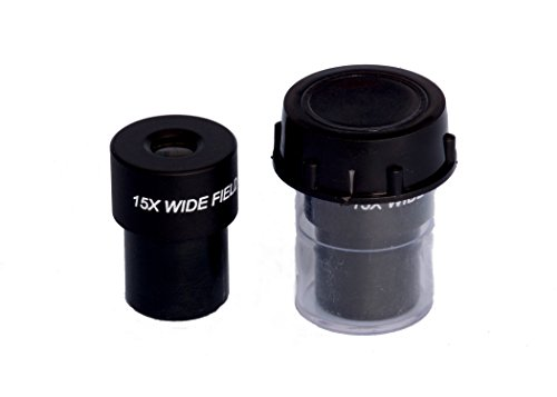 INDIA ESAW 15X Wf Widefield Microscope Eyepiece, 23Mm Dia, Fits Almost All Microscopes, Anti-Fungal Anti-Reflection Coated