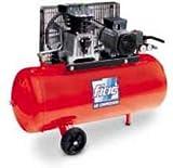 Compresor Fiac Cinghiato Motor Trifásico, 3 CV 3,3 Kw-100 Litros Peso: 8 kg.