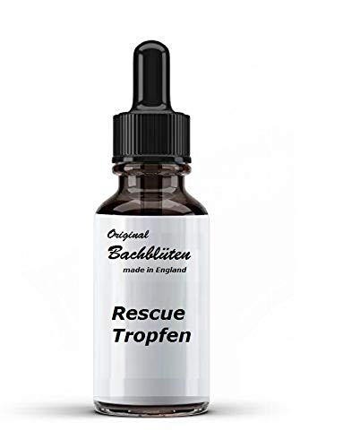 vectovet 50 ml Bachblüten Rescue Tropfen Made in England mit Pipette