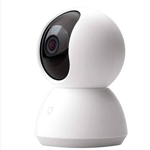 WOSOYES Videocamera IP Portatile 1080P Night Vision 360 View Detection Motion Home Kit Monitor di Sicurezza Microfono Incorporato