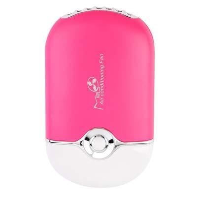 ZWCC Ventilateur portatif Mini-Ordinateur de Poche Rechargeable de Poche USB