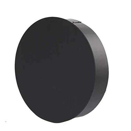Ø 180 mm - Ofenrohr Blindkappe Schwarz