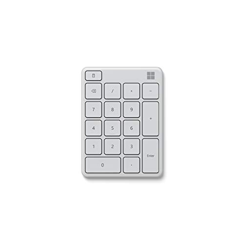Microsoft Wireless Number Pad Weiß
