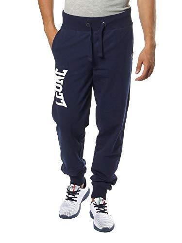 LEONE - Pantaloni da Uomo 1947 Apparel - Navy Blue (10), L
