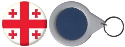MadAboutFlags Spiegel Schlüsselbund Flagge Fahne Georgien - 58mm