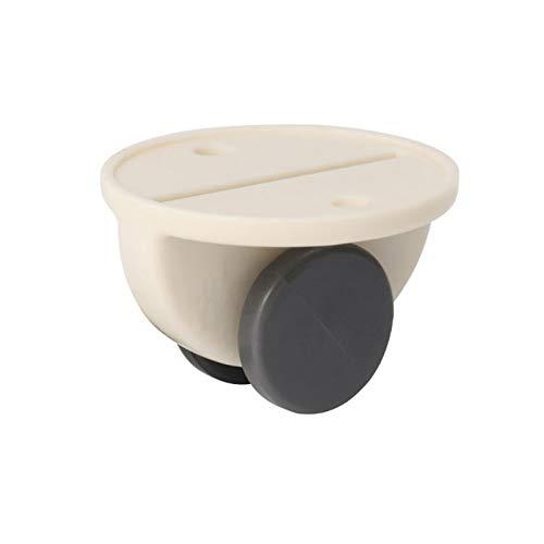 Lynn Furniture Castors Wheels Storage Box Pulley Scroll Wheel Fixed Castors Adhesive Furniture Rollen Rollen Aufbewahrungsbox Riemenscheibe Scrollrad Feste Rollen Kleber für Müll Aufbewahrungsbox
