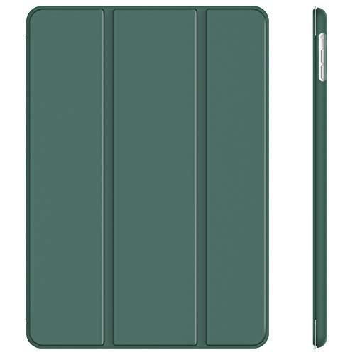 JETech Hülle Kompatibel iPad Air (2013 Modell), Schutzhülle mit Ständer Funktion & Auto Schlaf/Wachen, Neblig Blau