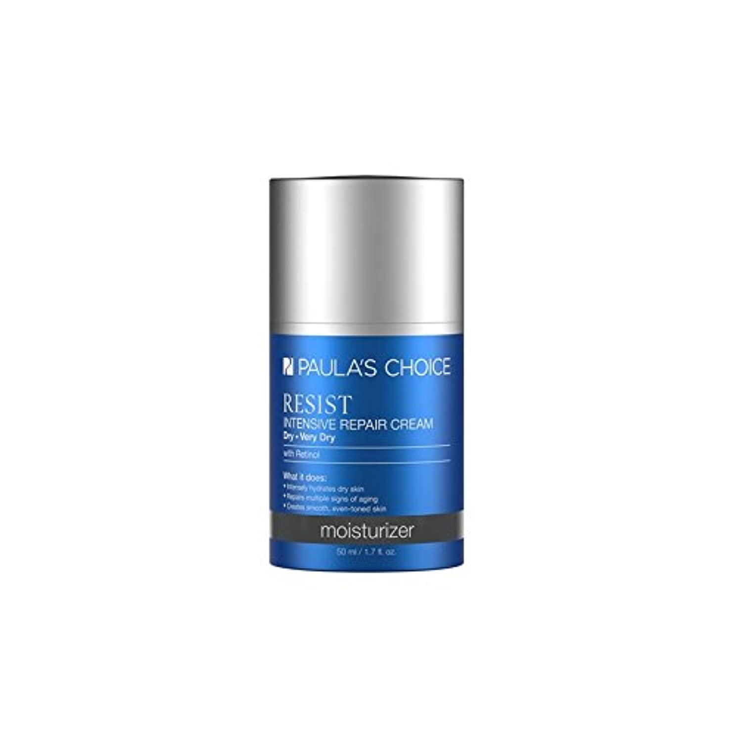 精神吹雪意味するPaula's Choice Resist Intensive Repair Cream (50ml) - ポーラチョイスの集中リペアクリーム(50)に抵抗します [並行輸入品]