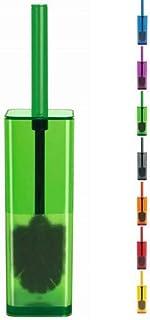 Spirella Cubo Clear Green 緑 トイレブラシセット