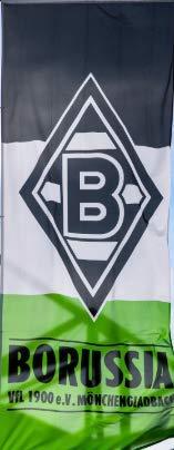 Borussia Mönchengladbach VFL Fahne/Mastfahne/Hissfahne *** 150 x 400 cm 186400