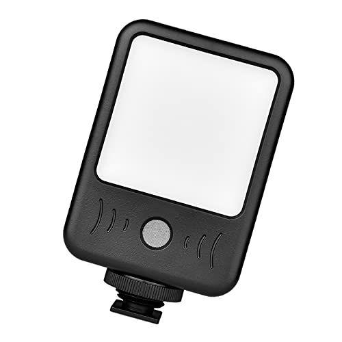 #N/A/a Mini luz de Video LED Cámara de grabación de micrófono Luz de Foto Videoconferencia Fotografía de Trabajo Remoto para computadora portátil de