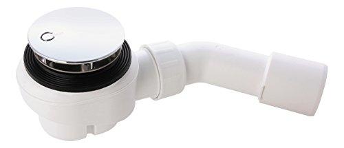 Ablaufgarnitur Domoplex für Brausewannen | Für Duschwannen mit 52 mm Ablaufloch | Viega | 126582 | Chrom
