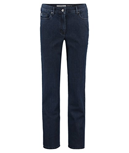 Zerres Damen Jeans Greta Regular Fit darkblue (83) 20