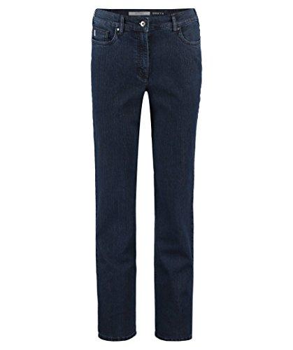 Zerres Damen Jeans Greta Regular Fit darkblue (83) 46