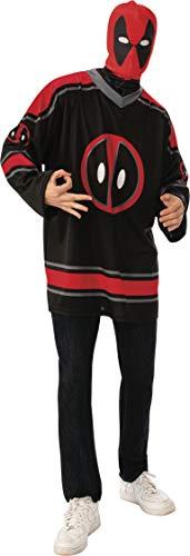Rubie's Marvel: Deadpool Costume Jersey Top Set, As Shown, Medium