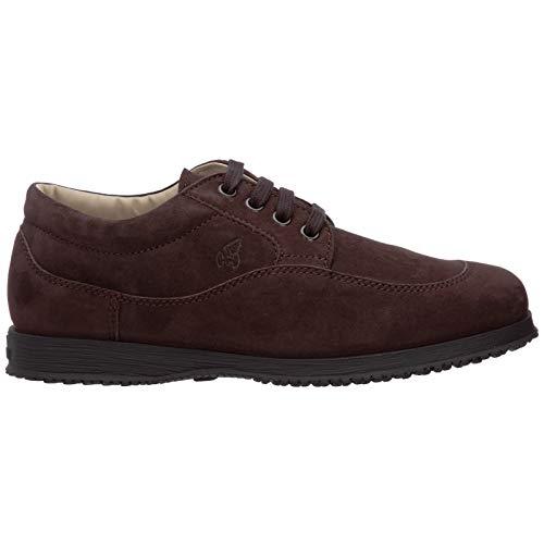 Hogan Sneakers Traditional Donna Marrone in camoscio - HXW00E00010 CR0S807 - Taglia 36