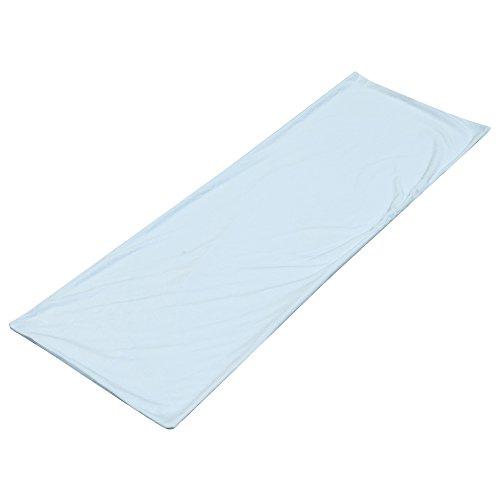 抱き枕カバー 無地 横ファスナー やさしい肌触り 通気性 厚生地仕様 洗濯可 160cmx50cm対応(ライトブルー)