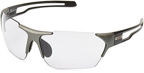 Uvex zonnebril Sportstyle 202 v, Gun Black Mat, One size