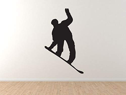 Snowboard Trick #7 - Mountain Downhill Competitieve muur Vinyl Decal Home Decor