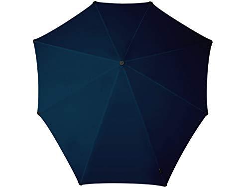 SENZ - Paraguas tradicional, color negro (pure black), talla XXL