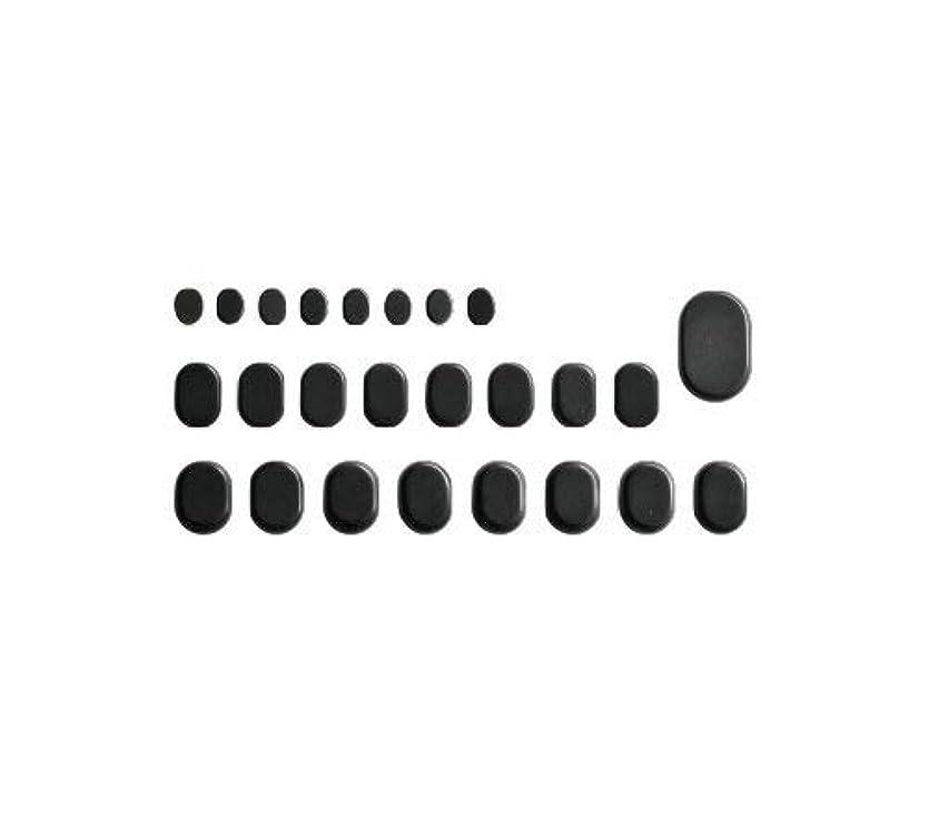 亜熱帯敬発生器ホットストーン バサルト 25 成形 玄武岩 [ ホット ストーン ストーンヒーター スパ ロミロミ ハワイ ハワイアン マッサージ ]