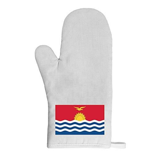 Mygoodprice Ofenhandschuh Topflappen Flagge Kiribati
