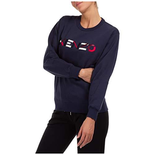 Kenzo Damen Sweatshirt blu M