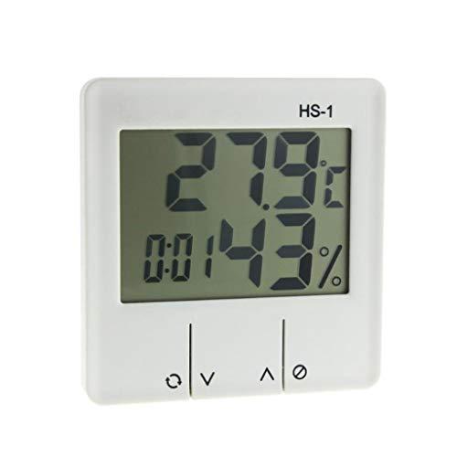 YWSZJ LCD Indoor LCD Temperatura Elettronica Misuratore Digitale Termometro Digitale Igrometro Stazione Meteo Stazione Sveglia