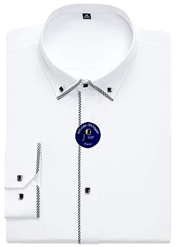 Camisa de vestir para hombres J. Ver en varios 24 colores