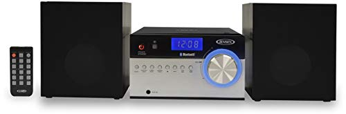 Jensen JBS-200 Bluetooth CD Music System with Digital AM/FM Stereo Receiver and Remote Control 2'