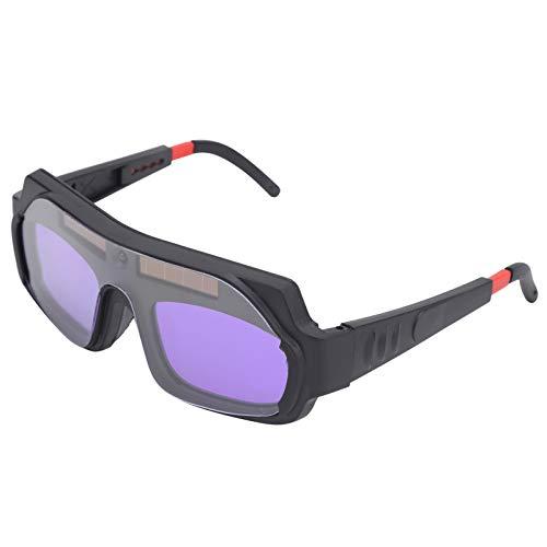 Gafas de soldadura YZ05 Protección de ojos ajustable YZ05 Protección de ojos de soldadura Patillas ventiladas Atenuación automática para soldadura