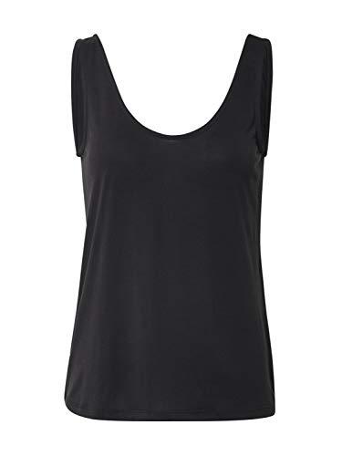 PIECES Damen PCKAMALA Tank TOP NOOS BC Trägershirt/Cami Shirt, Black, M