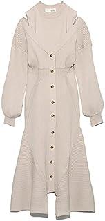 赞助广告- Lily Brown 分层针织连衣裙 LWNO214134 女士