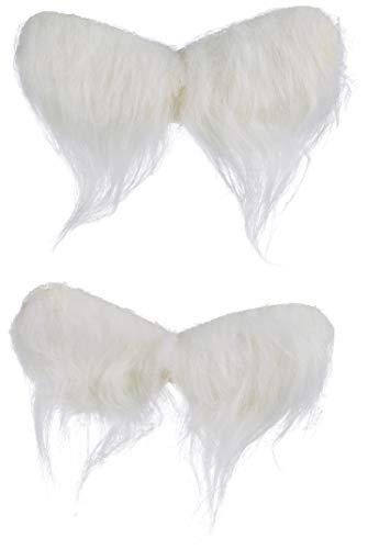 Glorex engelenvleugels, wit, 2 stuks 11 x 5 cm.