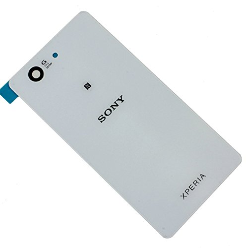 Sony Xperia Z3ERSATZ GLAS Gehäuse Akku Back Cover weiß