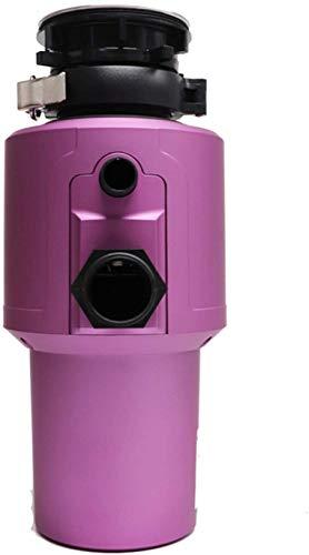 ZKHD 750W Lebensmittel Mülldeversorge, Mute-Küchen-Abfall-Shredder-WLAN-Schalter Sieben-Level Mahlzeit Multiple Sicherheitsschutz
