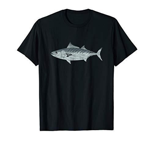Thunfisch Makrele Bonito Angeln Fishing Geschenke für Angler T-Shirt