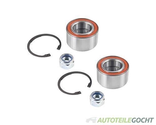 Set CX Radlagersatz Hinten für AUDI A3 8L 96-13 1J0498625A, 1J0407625, 1J0498625 von Autoteile Gocht