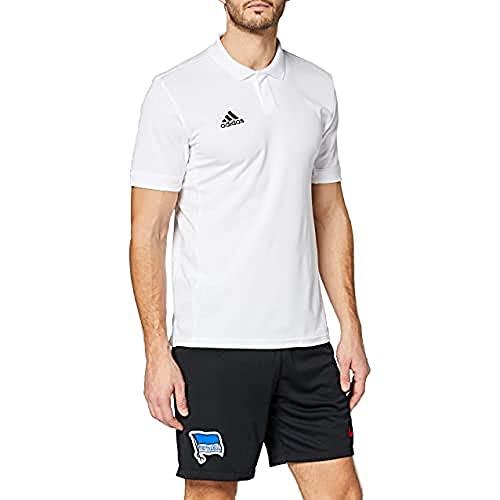 adidas Herren T19 M Polo Shirt, White, XL