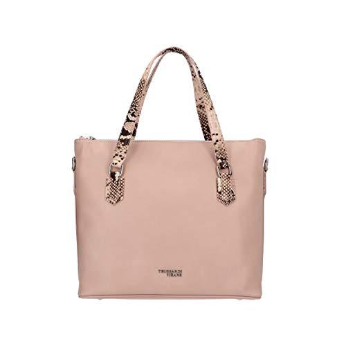 Trussardi Jeans 75B00913 - Bolso de mano, color rosa
