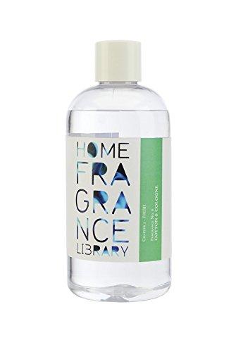 Wax Lyrical Home Parfum Bibliothèque coton & Cologne 250 ml Recharge pour diffuseer Roseau